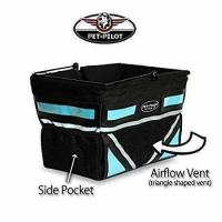 China holds up to 20 lbs - Pet Pilot Dog Bike Basket | includes 5 color inserts on sale