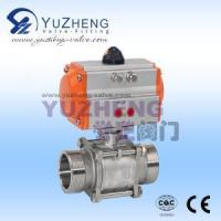 Quality Electrical & Electronics 3PC Male Thread Ball Valve with Pneumatic Actuator wholesale