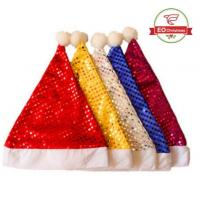Quality Glitter Party Christmas Hats wholesale