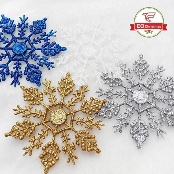 Cheap Snowflake Christmas Tree Ornaments for sale
