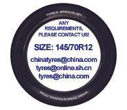 Quality RADIAL CAR TYRES-1 145/70R12 wholesale