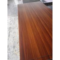 China 1300*2800mm Mid East Compact Laminated Sheets with Wood Grain on sale