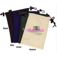 China Nylon drawstring pouches with safelock and keyring on sale