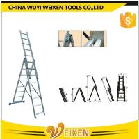 Quality Aluminum 3 section extension ladder wholesale