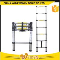 Quality 7 step 2.0M aluminum single telescopic ladder wholesale