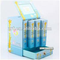Quality Blue Cardboard Gift Packaging Boxes For Sales wholesale