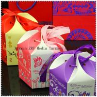 Quality Sweet Wedding Candy Packaging Paper Boxes wholesale