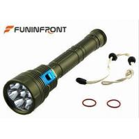 China Underwater Scuba Led Diving Flashlight 8.4v Input Working Voltage ,Scuba Diving Torch on sale