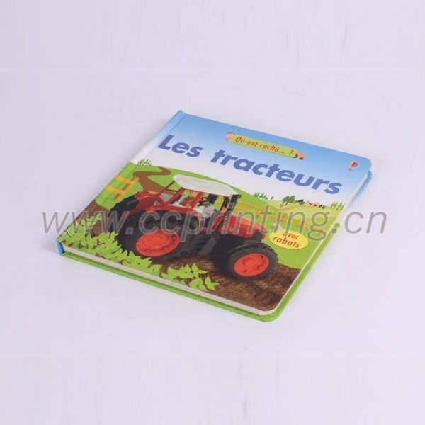 Cheap Factory custom made cardboard childrens book for sale