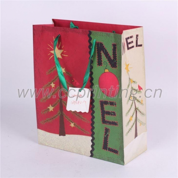 Cheap Christmas Paper Bag for sale