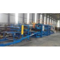 32KW Sandwich Panel Roll Forming Machine With 0 - 3.8m / Min Working Speed
