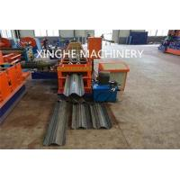 Smart Highway Guardrail Roll Forming Machine For 2 Wave Galvanized Guardrail
