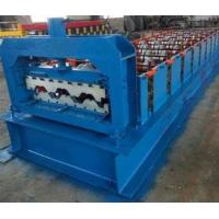 15KW Floor Deck Roll Forming Machine For Metal Structural Building Construction