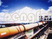 China Electrical Control Garbage furnace/ Cement Kiln treating industrial waste & on sale