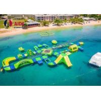 Quality Rental Inflatable Backyard Water Park , Kids Water Slide Inflatable For Pools wholesale