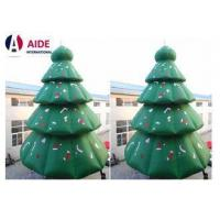 China Green Inflatable Christmas Tree , 8M Tall Blow Up Christmas Decorations on sale