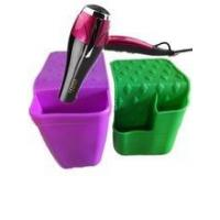 Quality silicone salon hair dryer and flat curling iron holder,silicone hot iron holster wholesale