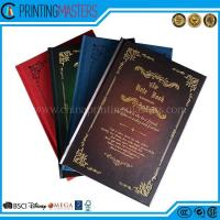 Quality 2017 High Quality Hard Cover Note Books Printing wholesale
