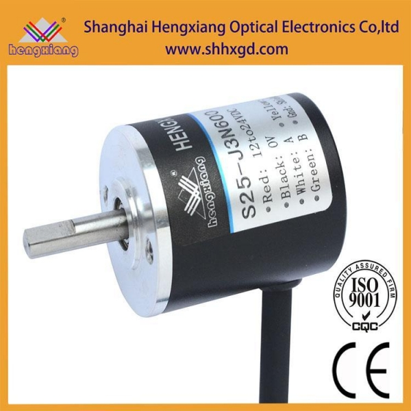 China S25-J3N360 DC5V small rotary encoder solid shaft