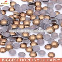 Quality Iron Half Coffee for Garment decoration from guangzhou wholesale