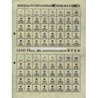 Buy cheap HOT FIX COPY AUSTRIAN COLOR RHINESTONE CHART from wholesalers
