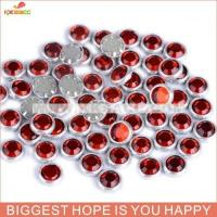 Buy cheap FANTASTIC SS30 SIAM COLOR HOTFIX SILVER RING RHINESTONE from wholesalers