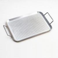 China Stainless steel Baking Pan Sqare Baking Tray BBQ Roasting tray on sale