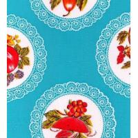 Quality Doily Light Blue Oilcloth wholesale