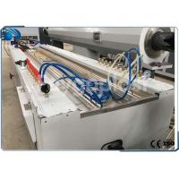 Buy cheap Twin Screw Plastic Profile Production Line , WPC / PVC Profile Extrusion Line from wholesalers