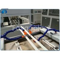 Buy cheap UPVC / PVC Profile Extrusion Line For PVC Windows Door Profiles With PLC Control from wholesalers