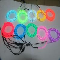 Quality cuttable el wire neon wire with multi colors wholesale