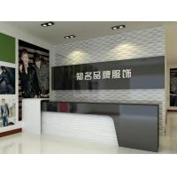 China Solid Surface modern office reception desk BOR-003 on sale