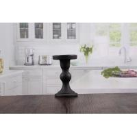 Buy cheap Wedding decorations candle holder black pillar candle holders supplier from wholesalers