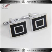 Quality 2016 Classic Men Party Gift Cufflinks Silver CF0577 wholesale