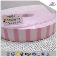 Buy cheap 180m/roll 100 Polyester Striped Bias Binding Tape On Stock from wholesalers