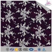 China High Quality Swiss Voile Beaded Embroidery Lace Fabric on sale