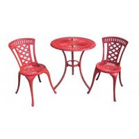 China Hot Sale Wilson And Fisher Patio Die Cast Aluminum Furniture Bistro Set on sale