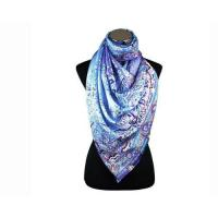 Buy cheap Lady Fashion Long 100% Silk Twill Chiffon Scarf As Birthday Gift in Store from wholesalers
