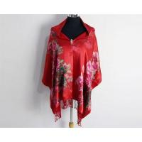 Quality Women Winter Warm Silk Velvet Burnout Scarves and Shawl for Ladies wholesale