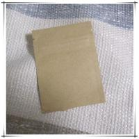 China Zipper top seal Kraft Paper Bag with Aluminum foil coated inner Powder Coffee bean Packaging bags on sale