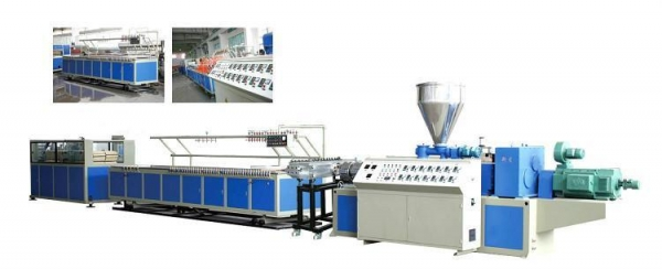 Cheap WPC Door Frame Profile Production Line for sale