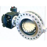 Quality Bidirectional API609 Metal Seal Butterfly Valve Replaceable Seat B16.47 wholesale