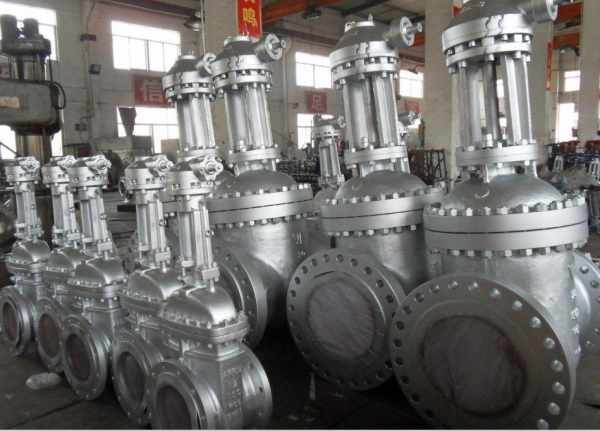 Cheap 14 Inch API 600 Gate Valve , WCB Material Flanged Gate Valve Lock Device for sale