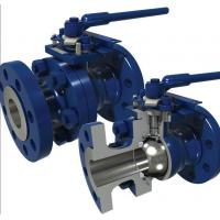 Buy cheap Performance Api 6d Full Bore Ball Valve , Floating Ball Valve A105n 300lb Rf Ptfe Seat Lever from wholesalers