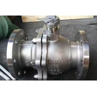 Buy cheap 2 Piece Full Bore Ball Valve With Pneumatic Actuator Directing Mounted Pad Single Acting from wholesalers