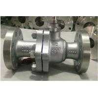 Buy cheap ISO 15848 Cast Steel FB Full Bore Ball Valve Spiral Wound Gasket Metal To Metal from wholesalers