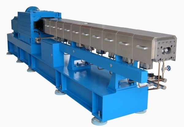 Cheap GTS Parallel Co-rotating Twin Screw Extruder for sale