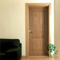 China Modern Interior Entry Doors with Solid Wood Internal Structure and White Finishing on sale