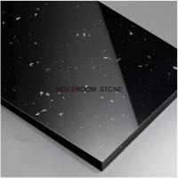 Quality Black Color Artificial Stone Polished Corian Solid Surface Thin Sheets wholesale