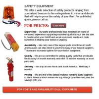 Quality Safety Equipment for Forklifts wholesale